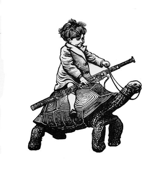 bassoon turtle