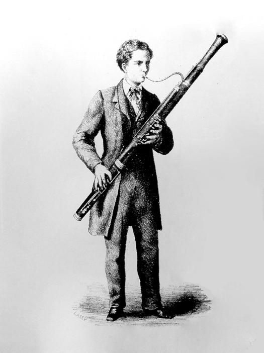 bassoon man