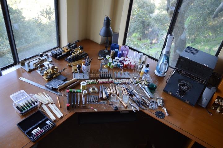 Reed Making Desk