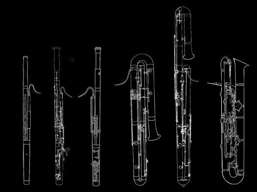 Bassoon Contrabassoon Contraforte French Bassoon Basson Baroque Fagott