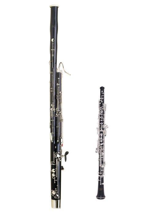 plastic bassoon oboe